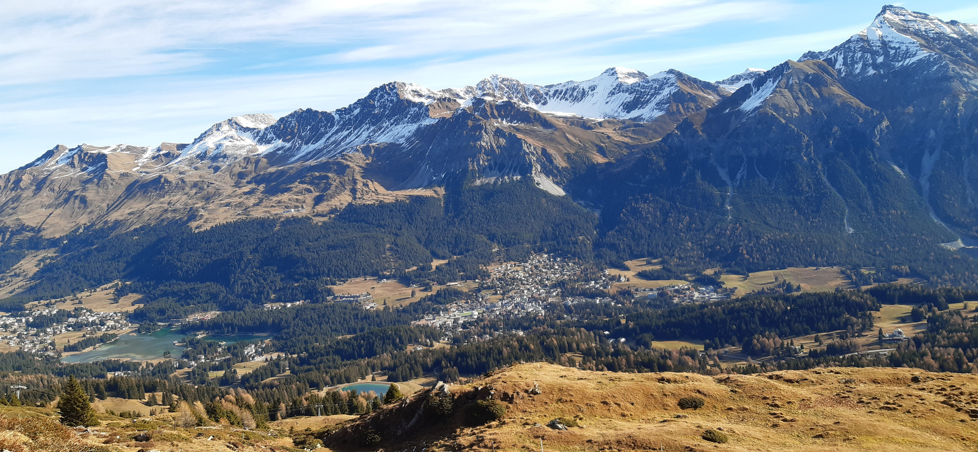 Lenzerheide in the fall. Photo by Michèle Ott.