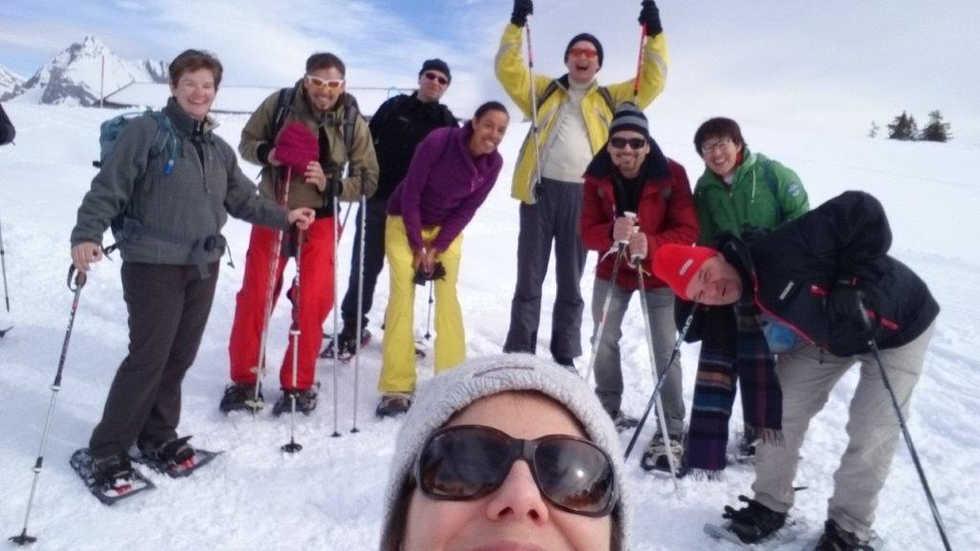 Snowshoeing, Toggenburg - 2016
