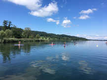 Stand Up Paddling, Greifensee - 2017