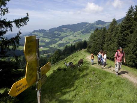 Hiking. Photo by atzmaennig.ch