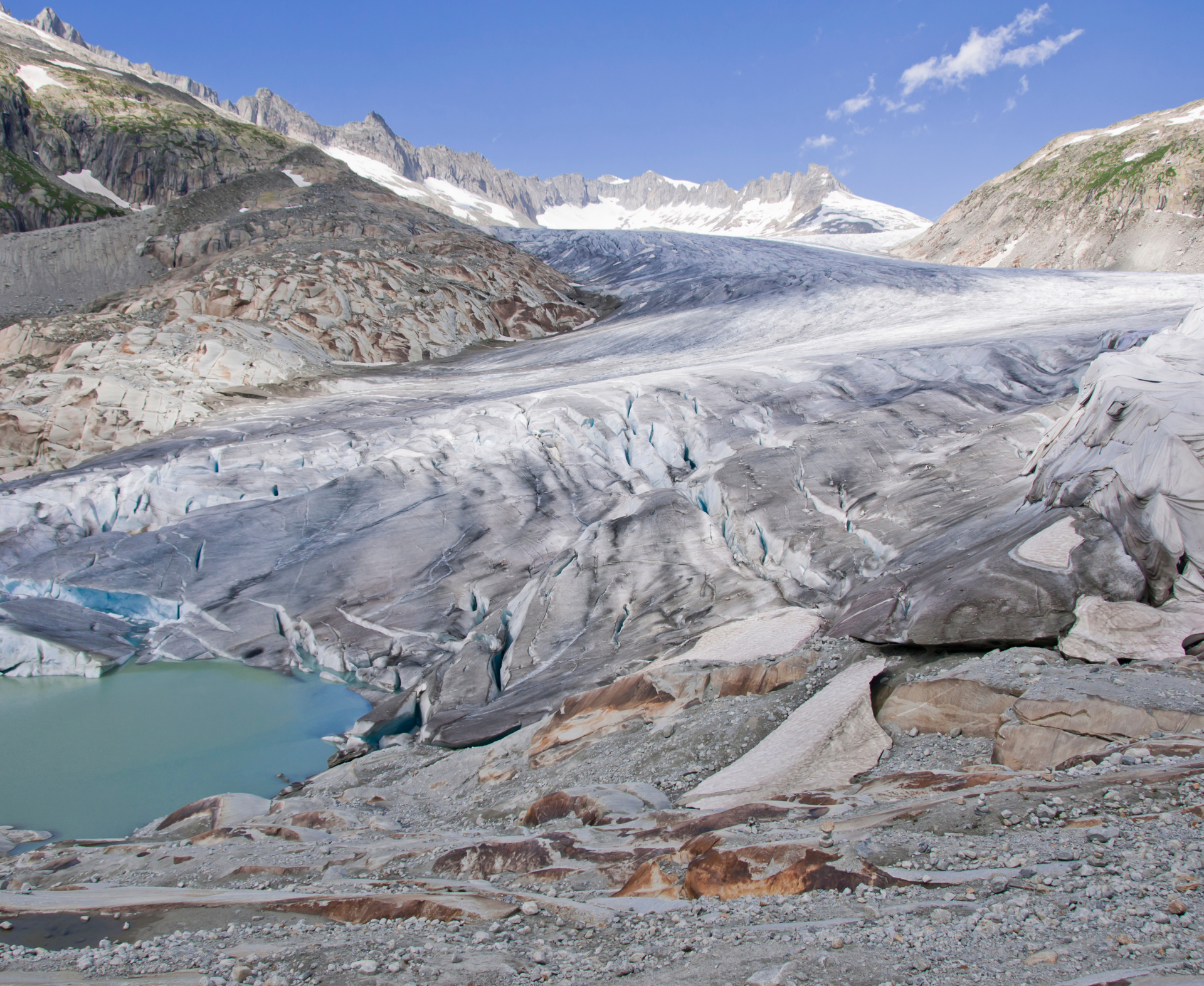 Rhône Glacier Photo by Buba1955_Getty Images