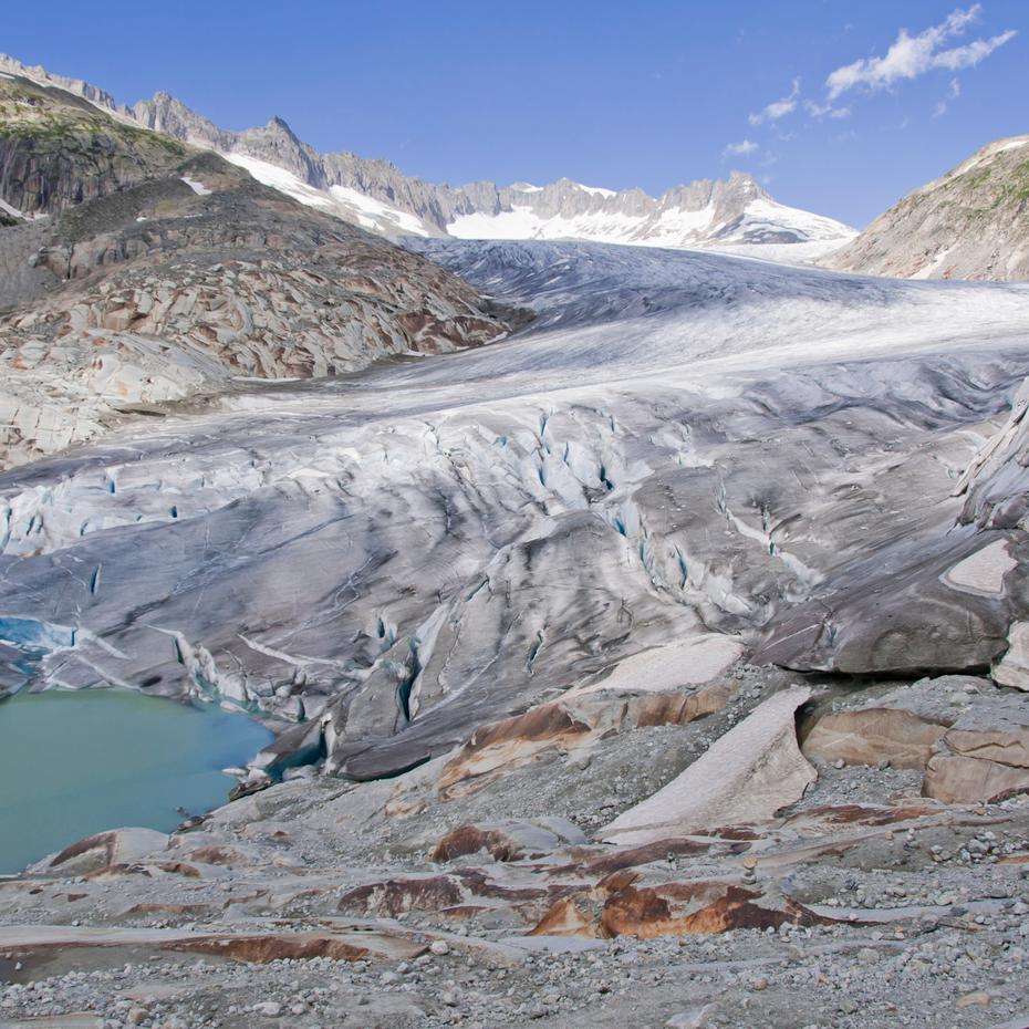 Rhône Glacier Photo by Buba1955_Getty Images
