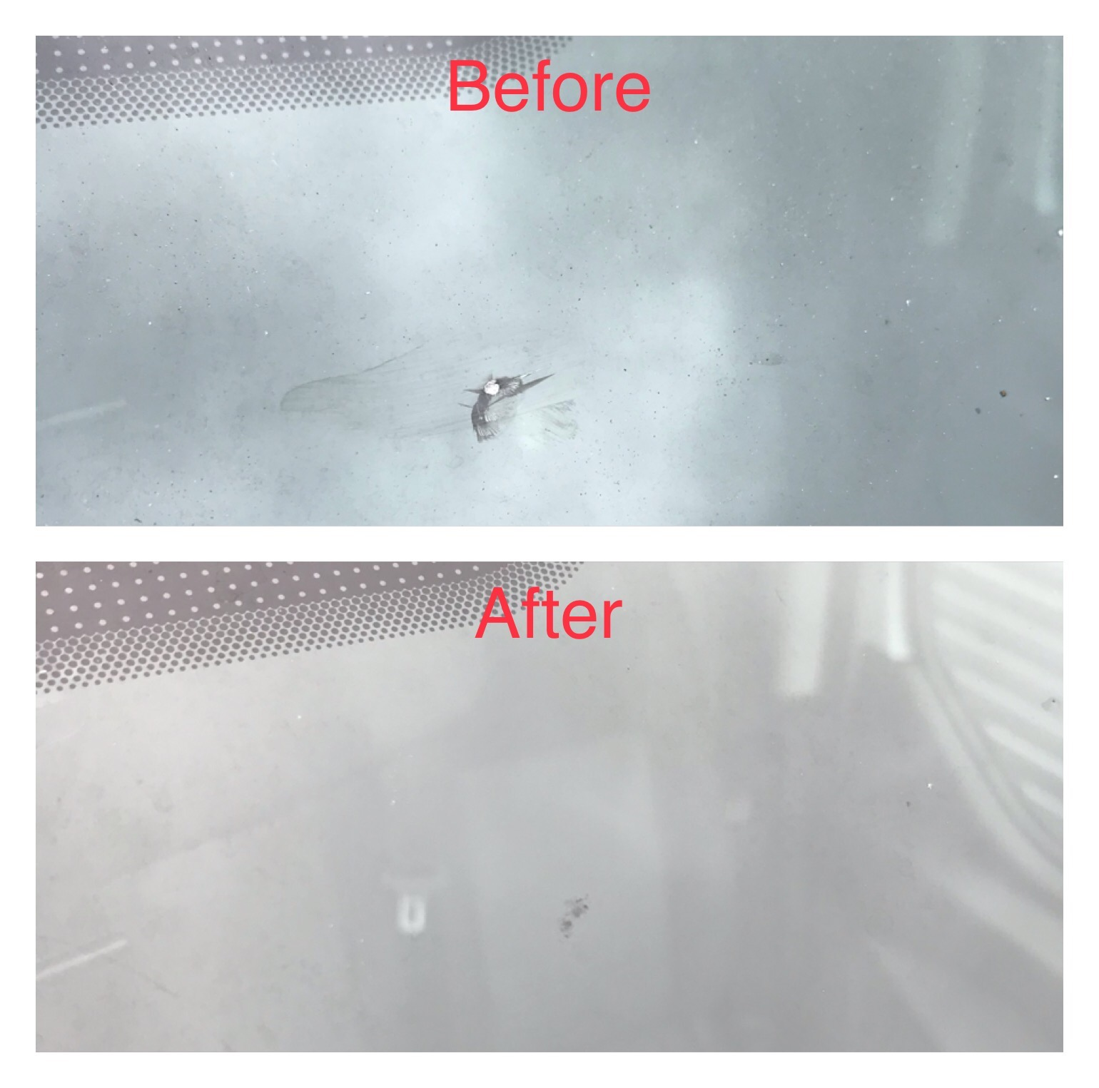Windscreen Repair of combination 5mm Bul