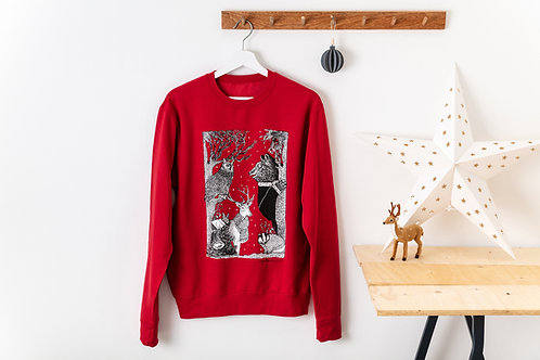 Woodland Animals Christmas Jumper