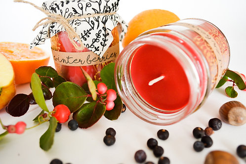 'Winter Berries' Hand Poured Candle