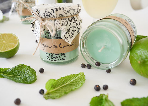 'Gin & Tonic' Hand Poured Candle