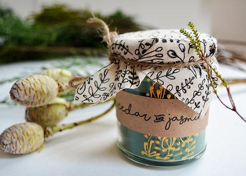 'Himalayan Cedar & Jasmine' Hand Poured Candle