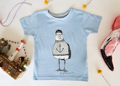 Billy the Seagull Kids T-Shirt