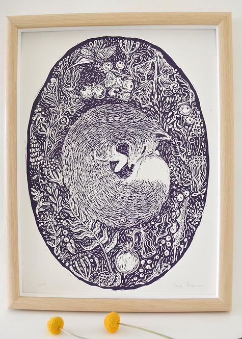 'Woodland' Screen Print