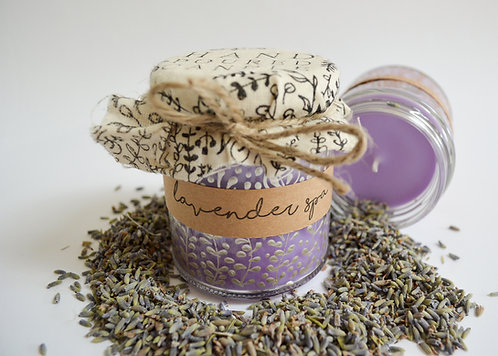 Hand Poured Candle 'Lavender Spa'