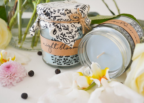 'Night Blooming Jasmine' Hand Poured Candle