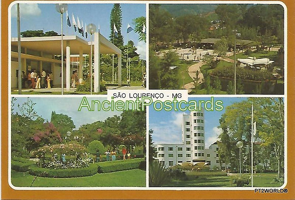 Brasil Postcards BRP1739 São Lourenço