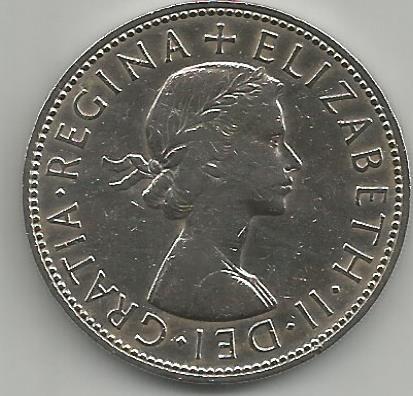United Kingdom UKEC.0011963 Half Crown 1963 Elizabeth II