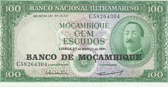 Moçambique MBBN0100014304 100 Escudos 1961