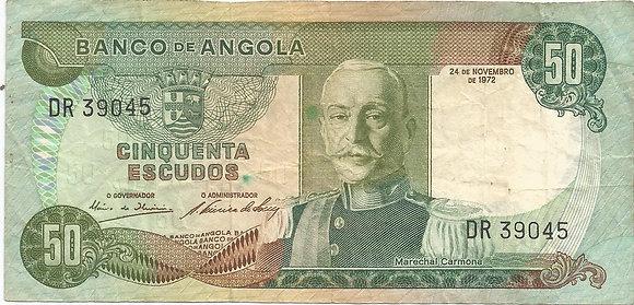 Angola  ANBN0500059045 50 Escudos 1972