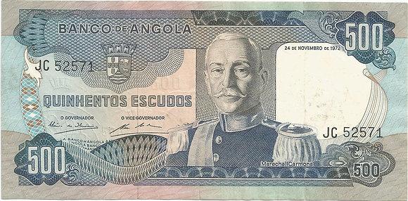 Angola  ANBN5000022571 500 Escudos 1972