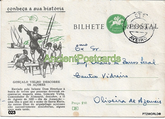 Bilhete Postal PT023/58 - Conheça a sua Historio