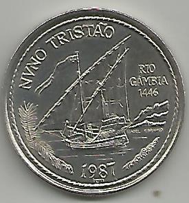 Portugal PT1121987 100 Escudos 1987