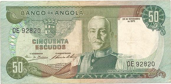 Angola  ANBN0500022820 50 Escudos 1972