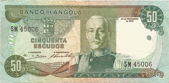 Angola  ANBN0500115006 50 Escudos 1972