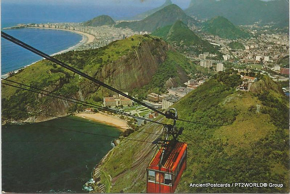 Brasil Postcards BRP2511 Rio De Janeiro