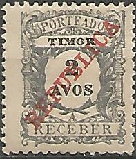 Timor TIS0040011913 Correios de Portugal