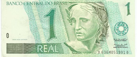 Brasil BankNotes BRBN0014051991 1 Real
