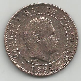 Portugal PT0X1051892 X Reis 1892