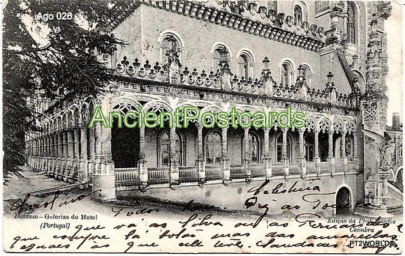 Portugal Ago PT0261904 Coimbra 1904