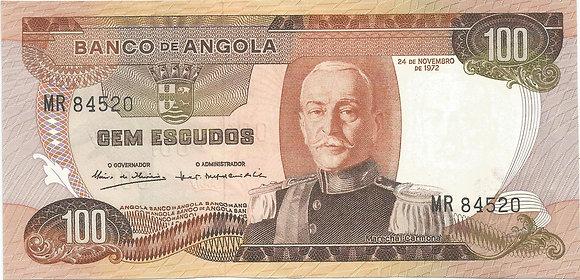Angola  ANBN1000064520 100 Escudos 1972