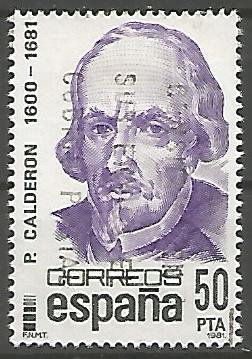 Spain ESPS001.1982 Pedro Calderon 1982
