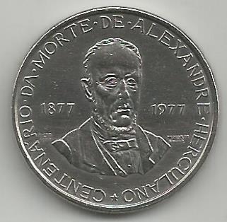Portugal PT00501977 5 Escudos 1977