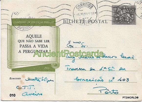 Bilhete Postal PT010/56 - Companhia de Educação Popular