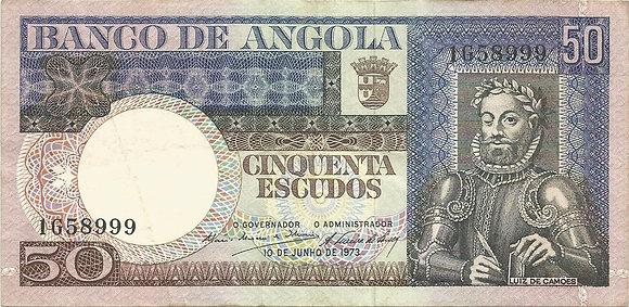 Angola  ANBN0500018999 50 Escudos 1973