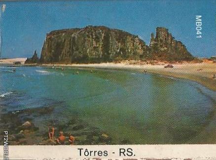 Brasil MatchBoxes BRMB041 Tôrres RS