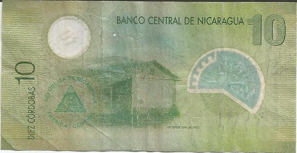 Nicaragua BankNotes NICBN010.047857 100 Cordobas 2007