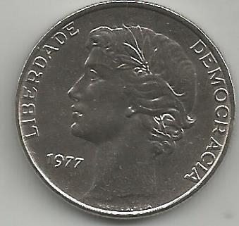 Portugal PT025011977 25 Escudos 1977