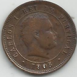 Portugal PT0V1011905 V Reis 1905