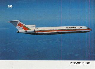 Portugal PTOT695 TAP BOEING 727