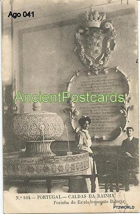 Portugal Ago PTLE0411911 Leiria Caldas da Rainha 1911