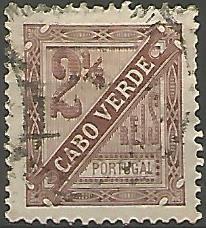 Cabo Verde CVS0010011893 Correios de Portugal