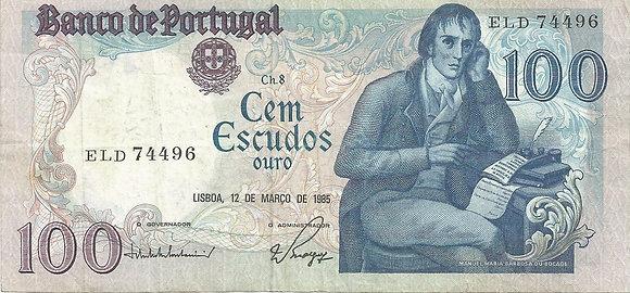 Portugal PTBN100.003.4496 100 Escudos 1985