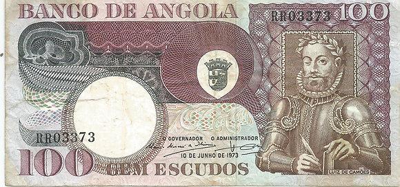 Angola ANBN1000103373 100 Escudos 1973