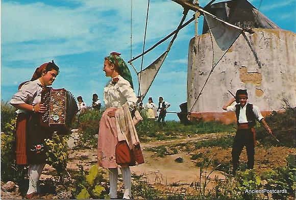 Portugal PTOT1992 Ribatejo Moinho e Folclore