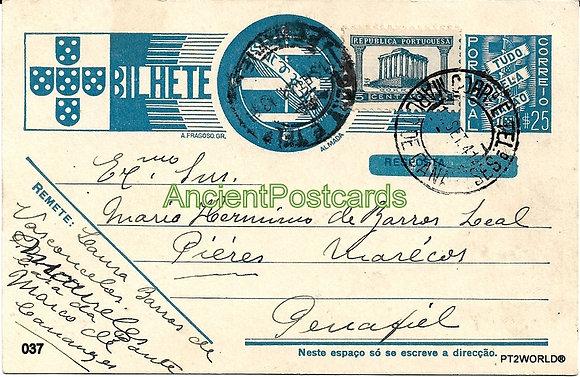 Bilhete Postal PT037/41