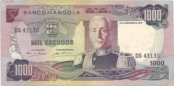 Angola  ANBN10000073130 1000 Escudos 1972
