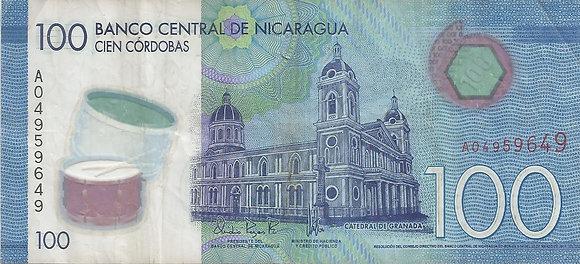 Nicaragua BankNotes NICBN002.59649 100 Cordobas 2014