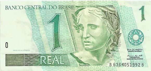 Brasil BankNotes BRBN0024051992 1 Real