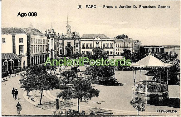 Portugal Ago PTFR0081915  Algarve Faro 1915