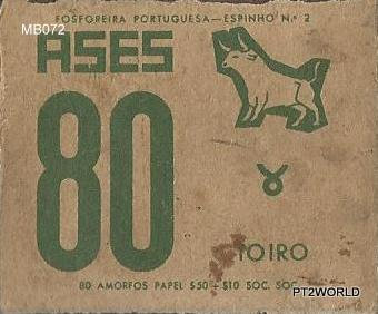 MB072 Portugal Matchboxes